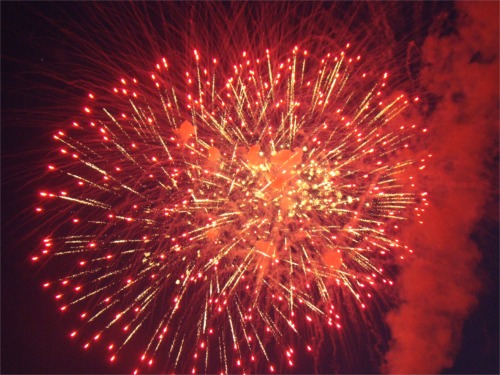 July 4th fireworks a