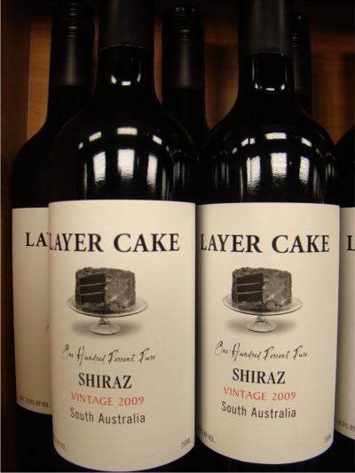 Wine layer cake