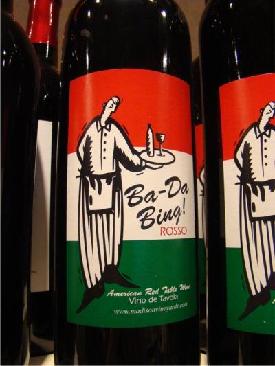 Wine bada bing