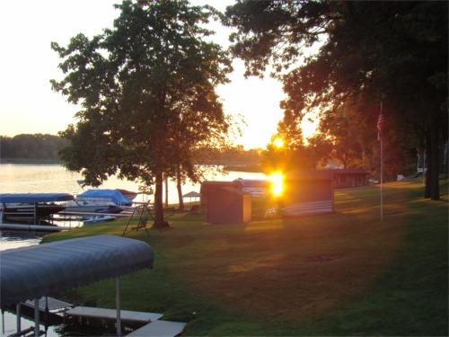 Lake 2010 dusk
