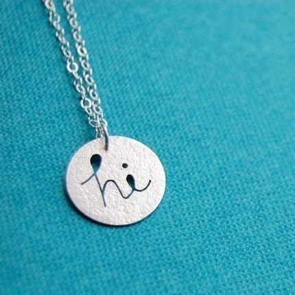 Hi necklace
