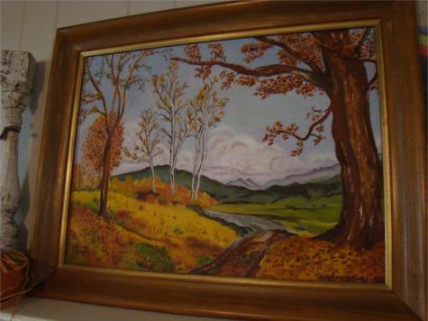 Nana fall painting