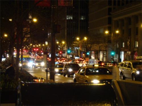 Chicago night alive