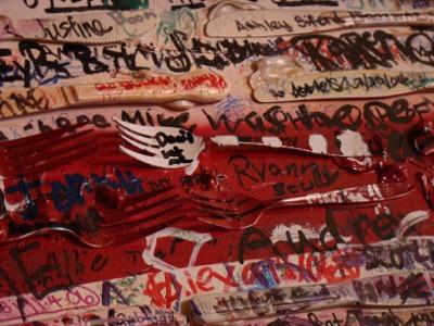 Chicago ginos flag forks