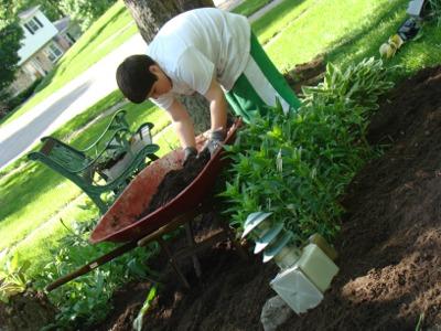 G gardening