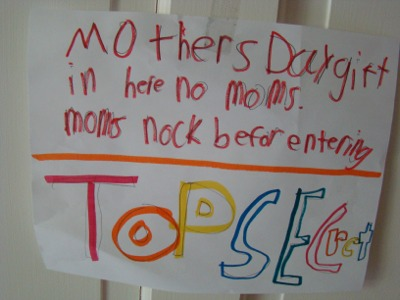 Moms day top secret