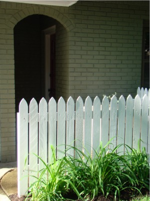 Picket fence done