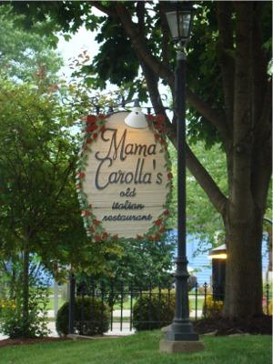 Mama carollas sign