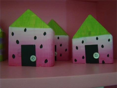 Summer os watermelon houses