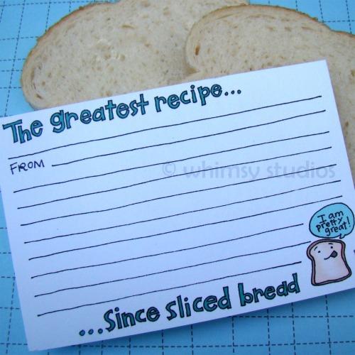 Summer x recipe bread