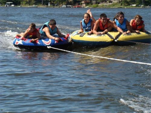 Lake 2010 tubing