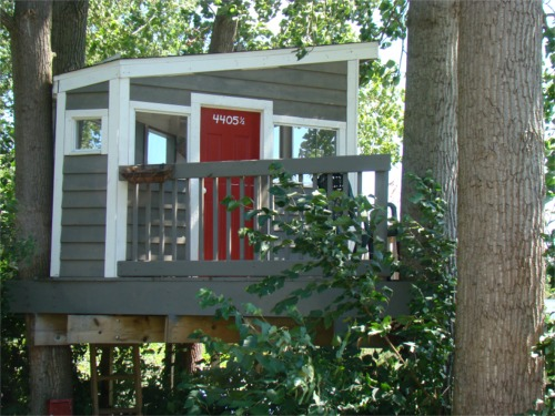 Lake 2010 treehouse