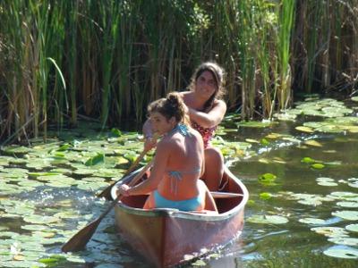 Lake 2010 canoe girls