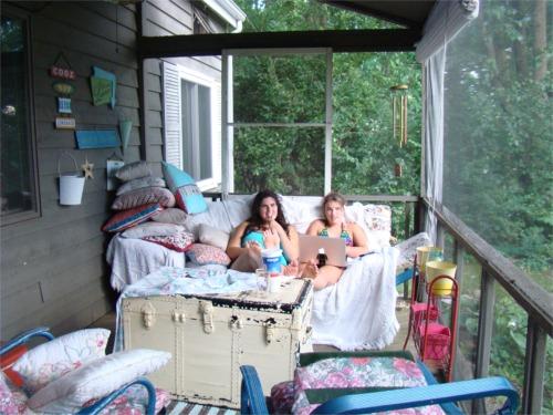 Lake 2010 porch