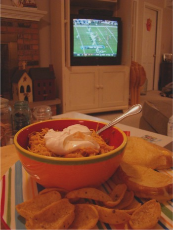 Chili and football