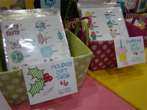 HM gift tags