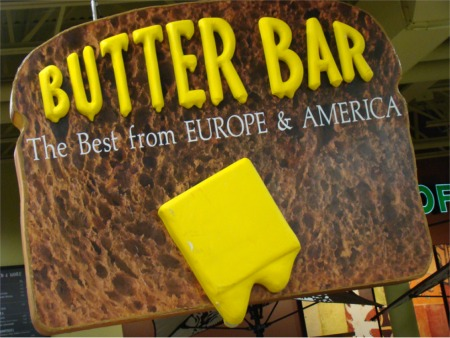 Ikea 10 butter bar sign