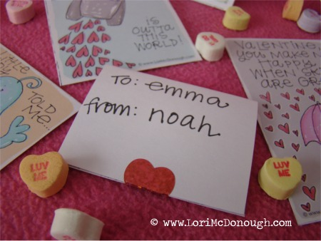 Valentines to from