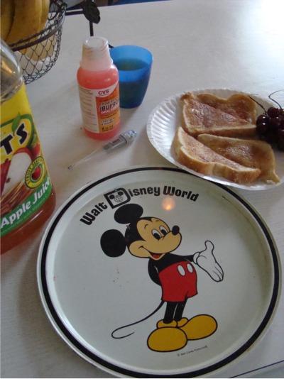 Sick day toast