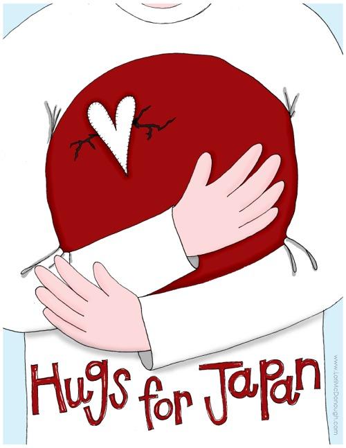 Hugs for japan