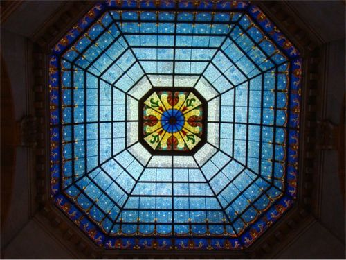 Statehouse stained glass