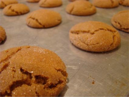 Cookies gingersnaps