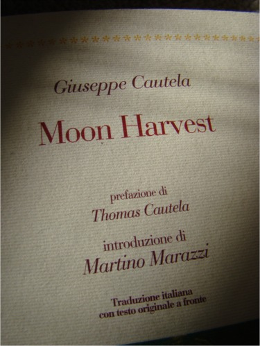 Moon harvest author