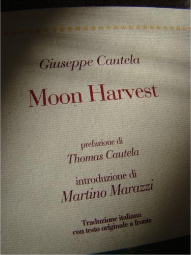 Moon harvest author