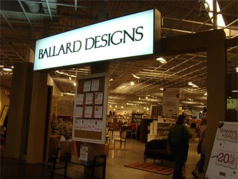 Ikea 10 ballard sign