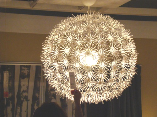Ikea 10 dandelion light