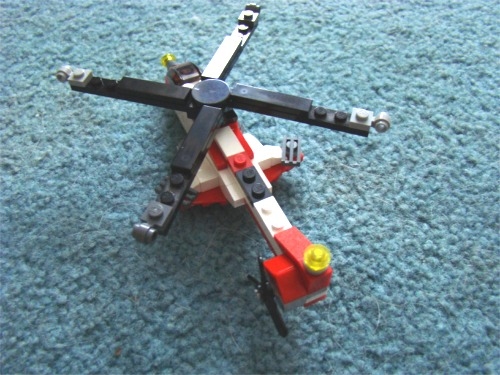Griffin lego heli