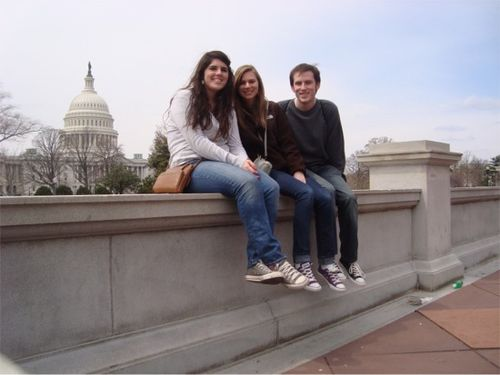 Kate and friends at capitol