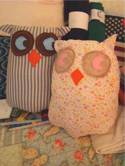 Mama papa owl