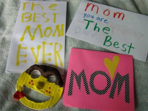 Homemade moms day