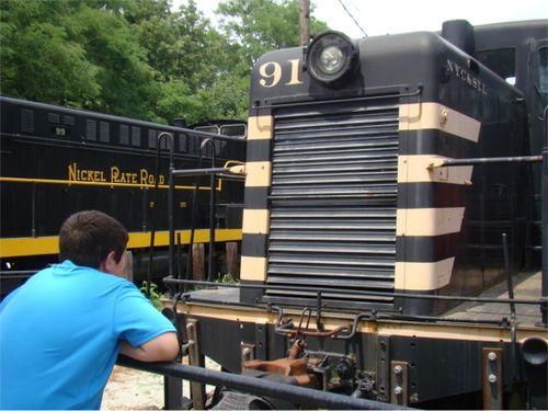 Itm black train