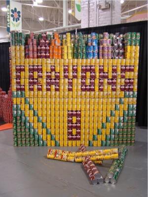 Fair cans crayons