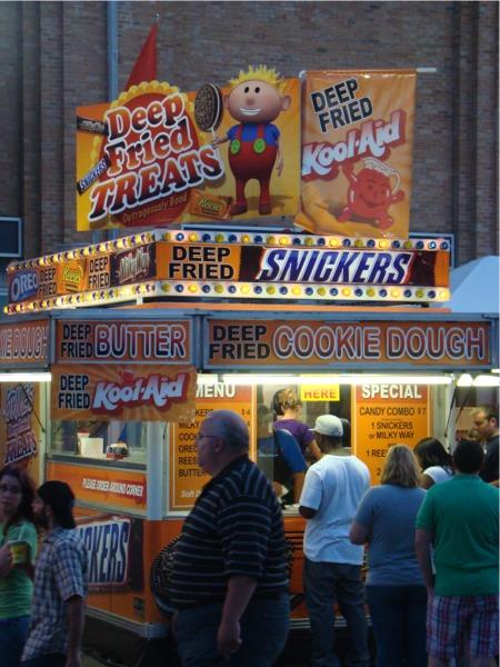 State fair fried food