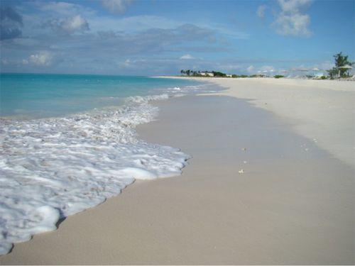 Tc deserted beach