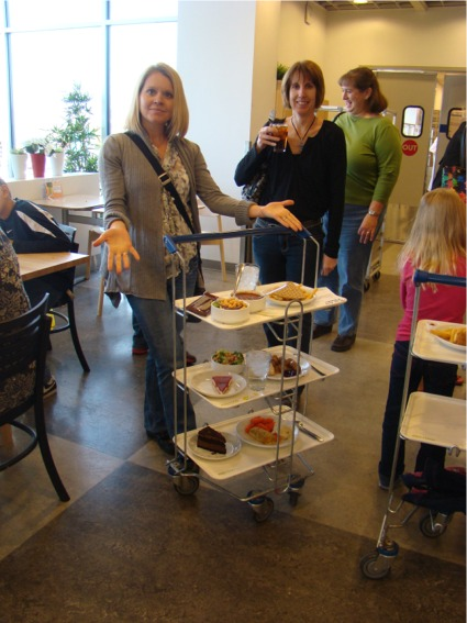 Ikea 2011 lunch cart