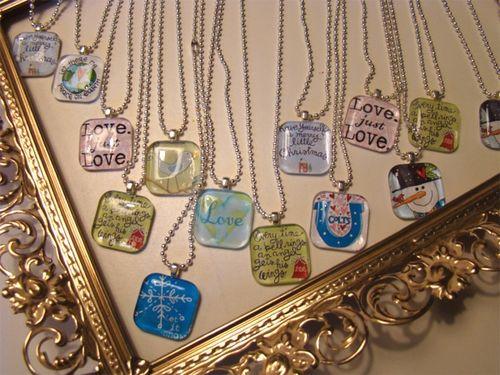 Open studio 11 necklaces