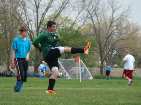 Riley soccer goalie