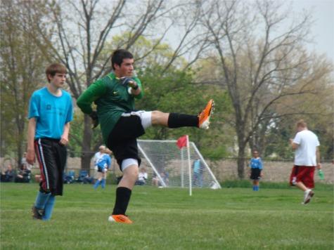 Riley soccer goalie