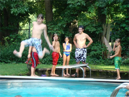Hood jumping