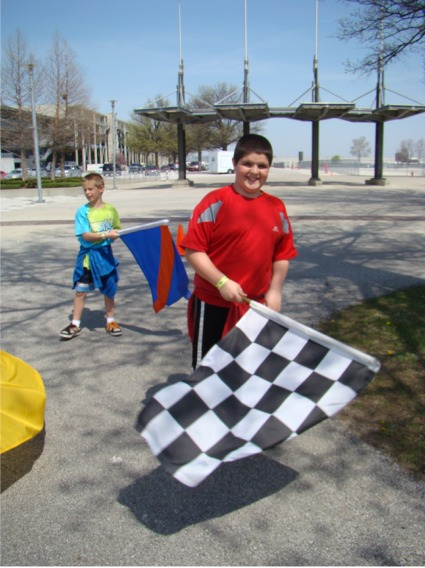 Griff checkered flag