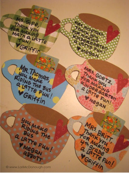 Teacher gifts coffee