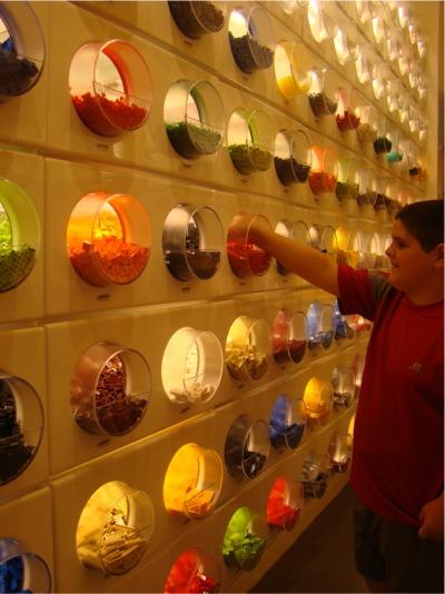 G lego wall