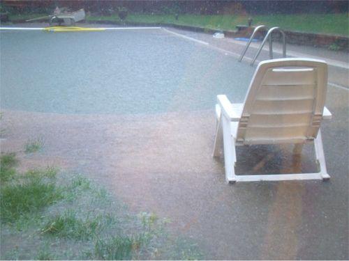 Pool overflow