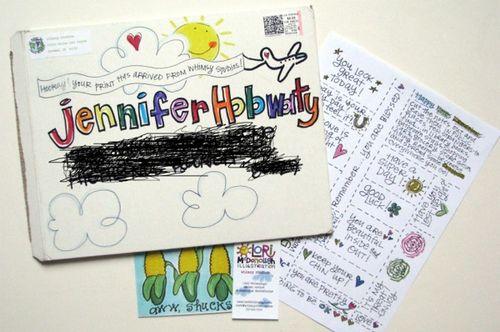 Happy mail jennifer