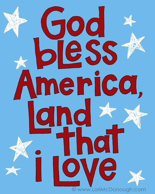 God bless america copy