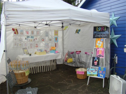 Whimsy tent